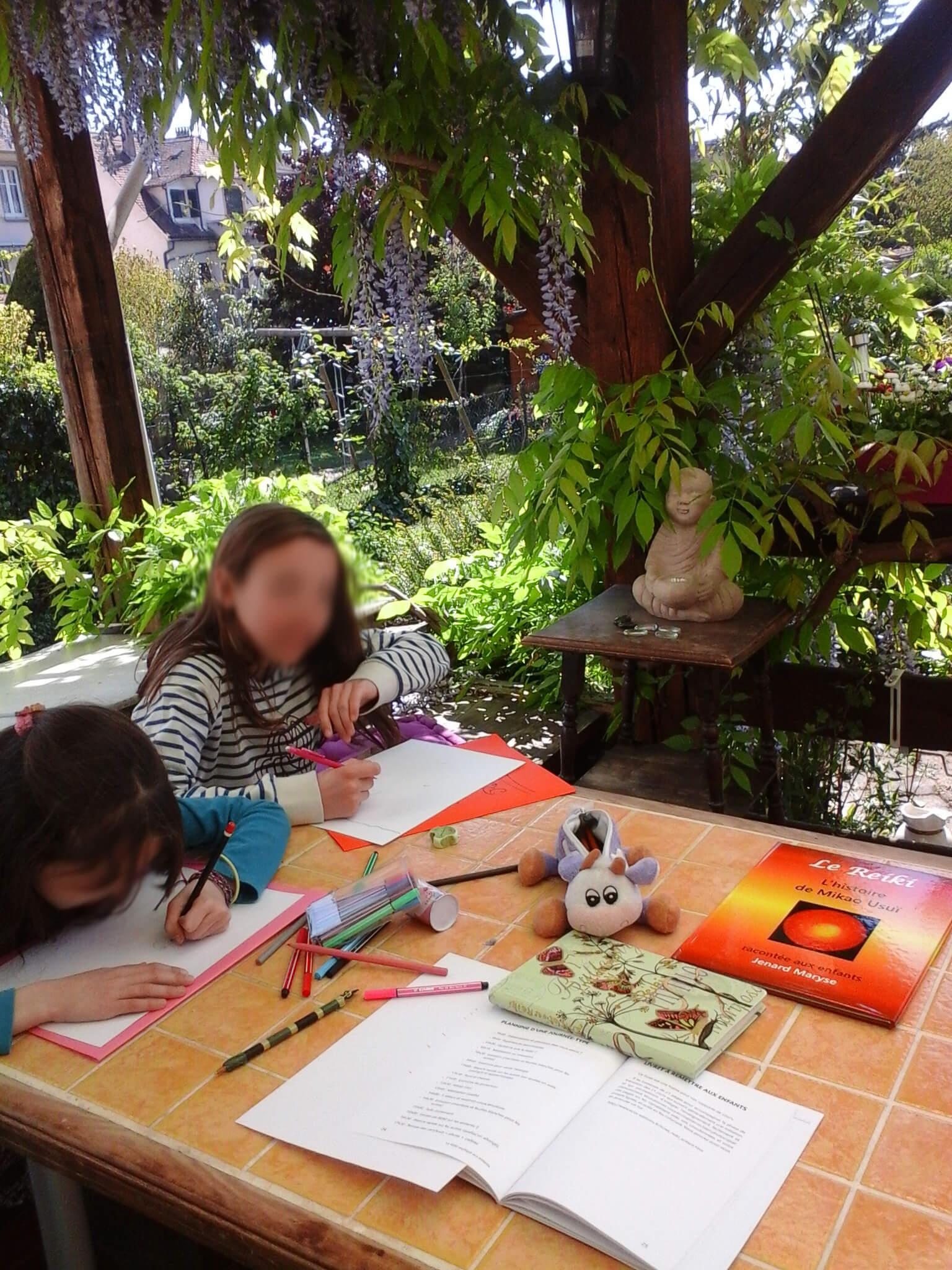 Initiations reïki pour enfants avec Katherine Husser Hunsicker à Strasbourg
